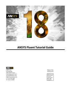 ansys fluent 18 tutorial guide