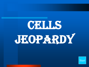Cell JEOPARDY 2016