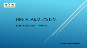Fire Alarm System ppt