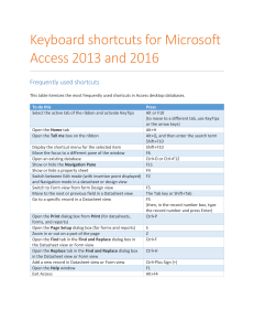 Access-2016-for-Windows-keyboard-shortcuts