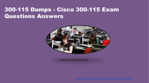 DumpsExpert 300-115 Practice Test Questions Answers