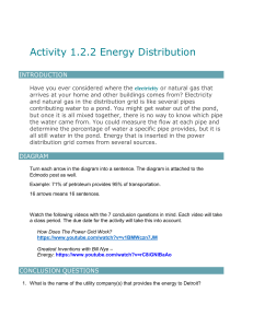 Activity 1.2.2 Energy Distribution 1