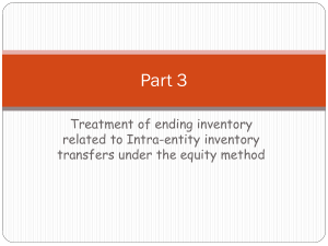 Part3 equity method inventory transfer parent sub