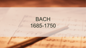 BACH music project