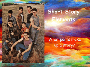 Elements of a Story Slides Plot Elements