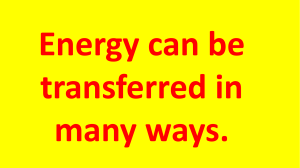Energy Transfer PPt