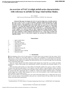 An overview of naca 6-digit airfoil series characteristics with reference to airfoils for large wind turbine blades-min