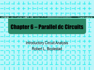 Parallel DC Circuits