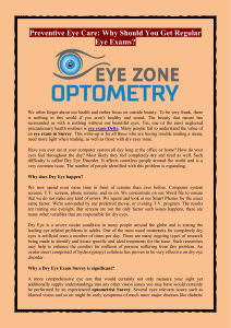 Preventive Eye Care Why Should You Get Regular Eye Exams