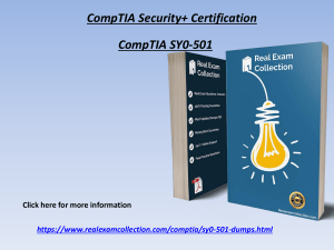 2020 Valid CompTIA SY0-501 Exam Dumps - SY0-501 Questions