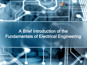 A Brief Introduction of the Fundamentals of Electrical (1)
