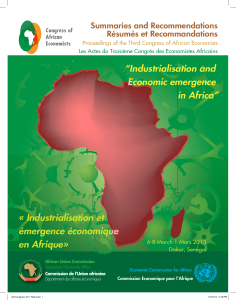 31784-doc-3rd congress of African economist