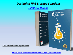 Valid HP HPE0-j57 Exam Dumps - Latest HPE0-j57 Questions Answers