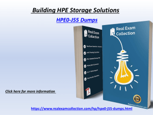 Valid HP HPE0-j55 Exam Dumps - Latest HPE0-j55 Questions Answers