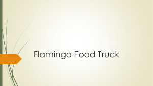 Flamingo Food Truck PP