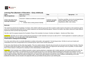 EDU10001 - Example Annotated Learning Plan