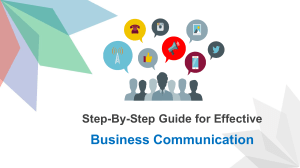 Step-By-Step Guide for Effective Business Communication