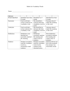 Rubric-for-Vocabulary-Words