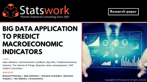 Big Data application to predict macroeconomic indicators - Statswork