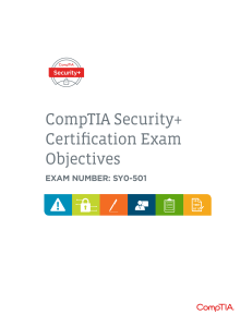 comptia-security-sy0-501-exam-objectives