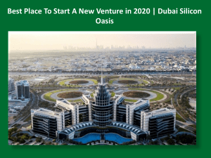 Best Place To Start A New Venture in 2020 | Dubai Silicon Oasis
