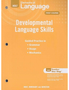 epdf.pub elements-of-language-developmental-language-skills