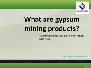 Get the best guidance of mining products