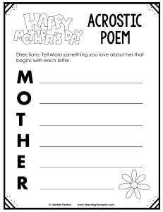 Mothers-Day-Acrostic-Poem