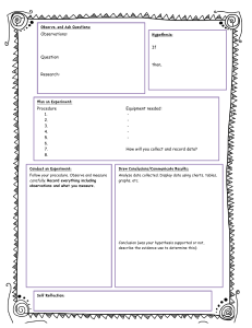 ScientificProcessWorksheet