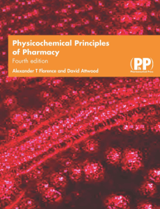 A. T. Florence, David Attwood - Physicochemical Principles of Pharmacy-Pharmaceutical Press (2005)