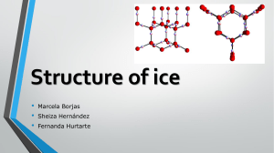 structure of ice