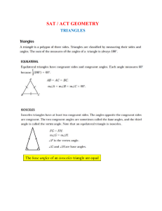 ACT Triangles