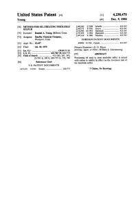 Young 1980 - Method for Oil-Treating Insoluble Sulfur