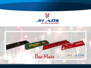 Bar Mat Manufacturers