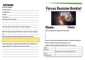 1.Forces Revision Booklet