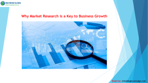 Why Market Research is a Key to Business Growth