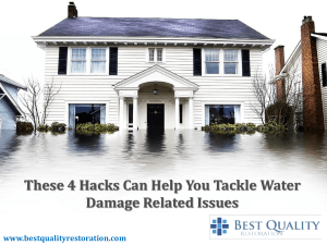 Water Damage Irvine