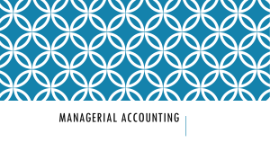 2.Mangerial Accounting