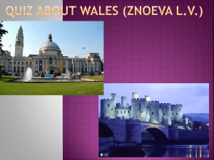 quiz about wales