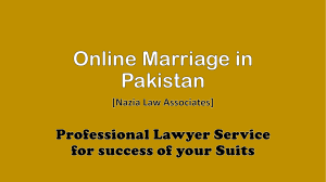 Get Consult About Simple Way For Online Marriage in Pakistan