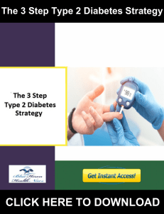 The 3 Step Type 2 Diabetes Strategy PDF, eBook by Jodi Knapp