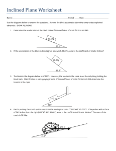 Inclined Plane Worksheet lower