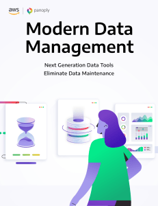 Modern Data Management AWS