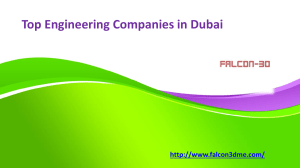 Top Engineering Companies in Dubai