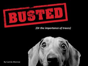 BUSTED-Power of Sniffing Dogs