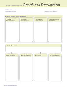 ATI Growth and Development Template