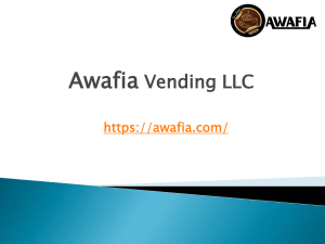 Best Coffee Vending Machine For Office - Awafia