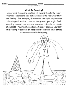 learning-about-empathy-worksheet