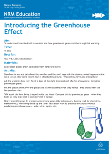 Greenhouse-Effect-Activity