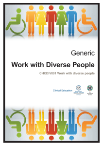 Study Guide - Work with diverse people v1.1 180828